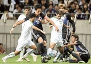 後半ロスタイムに歓喜 サッカーW杯最終予選・イラク戦