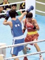 ボクシング成男・河野、木村が準々決勝へ 岩手国体