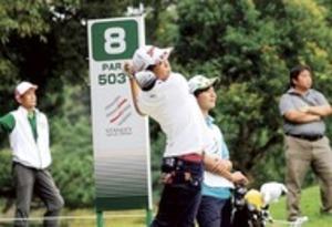 望月(富士田子浦中)93位タイ スタンレー女子ゴルフ