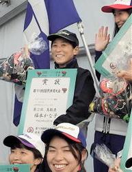 いわて国体 1秒78差福本準優勝 カヌー鳥取成女