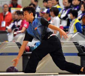 ボウリング成年男子個人、石川が頂点 いわて国体