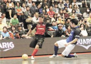 フットサルFリーグ10周年 仙台でオールスター戦