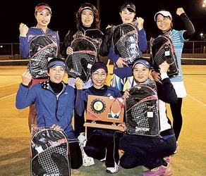 OTC―A(女子)初V テニス静岡県クラブ対抗トーナメント