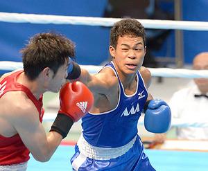 ボクシング・岡沢、出し切り3位 いわて国体第9日