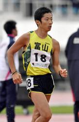 不慣れ1万m競歩、リオ代表・谷井5位 いわて国体