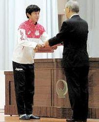 リオ五輪マラソン・佐々木選手、大仙市民賞贈呈式