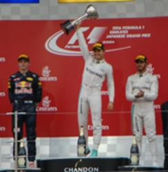 自動車F1日本GP ロズベルグが優勝