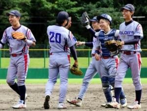 軟式野球の兵庫県都市対抗 グローリープロダクツが初優勝