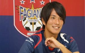 J2岡山 矢島慎也 サッカーしない自分想像できない