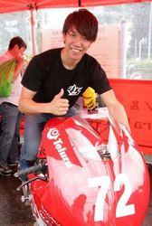 世界に挑む2輪レーサー、長島哲太 地元横須賀でイベント