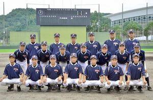 高知県選抜が軟式野球のKボール秋季大会でベスト4