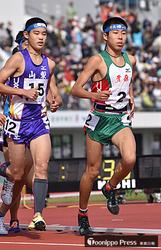 岩手国体 陸上男子3000メートル、田澤が2位入賞