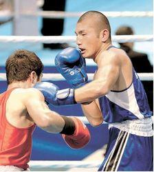 岩手国体 梅村準優勝 ボクシング成年男子ミドル級