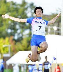 福島高専・末永が躍進4位 いわて国体・少年男子B走り幅跳び