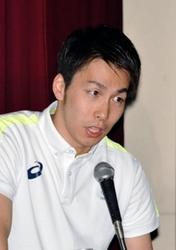 パラ競泳の山田、講演