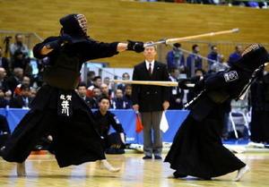 岩手国体 剣道成年男子、佐賀2年ぶり8強