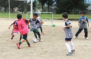 J2松本 外国籍の子ども対象にサッカー教室