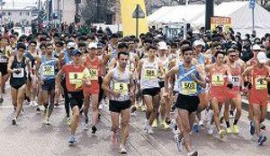 折り返しコースに、全日本競歩能美大会 東京五輪に向け世界標準
