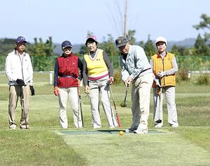 パークゴルフ場が「復活」 南相馬・鹿島、愛好家ら開所を喜ぶ