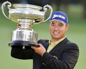 ゴルフ日本オープン選手権 松山秀樹が初の日本一