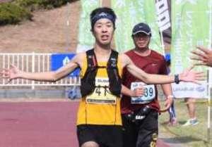 上州八王子丘陵ファントレイルinOTA ロング男子は太田市出身、町田
