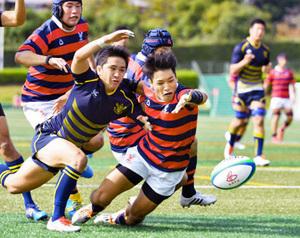 京産大が初勝利、同大3連勝 関西大学ラグビー