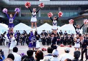 伝統の一戦へエール交換 関西学生野球・同立戦前夜祭
