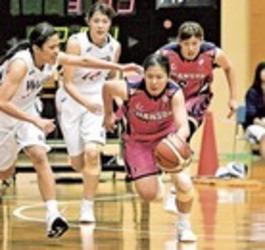 バスケ女子Wリーグ シャンソン、連勝