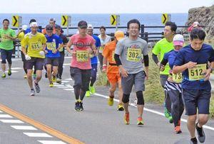 高知県室戸市で健康マラソン大会