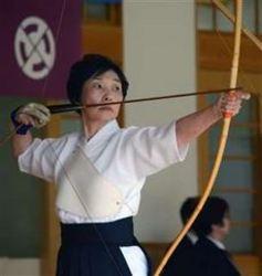 55歳から弓道挑戦、初の全国大会 能代の水沢さん