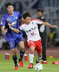 J2熊本 町田に0-1で敗れる