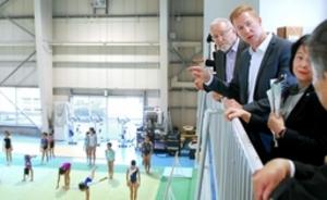東京五輪ドイツ体操チームの合宿を歓迎 上越市