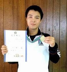 全日本中学生ライフル 芳司健太がビームライフル制す