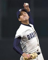 同志社大、粘り勝ちV王手 関西学生野球「同立戦」