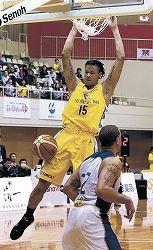 金沢競り負け 加賀でバスケBリーグ