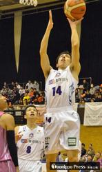 バスケB2青森、逆転負けで3連敗