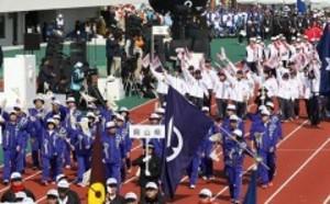 全国障害者スポーツで岡山勢奮闘 堂々と行進披露