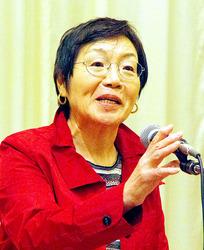 女性初エベレスト登頂、田部井さん 被災者励まし勇気づけ