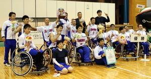 全国障害者スポーツ大会 車いすバスケ長崎県選抜が初優勝