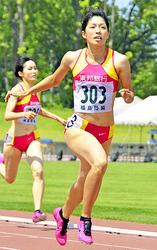 陸上・千葉麻美選手が今季限り引退 女子400・日本記録保持者
