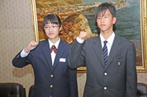 室蘭の中学生がジュニアオリンピック陸上大会出場