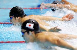 水泳W杯東京大会 瀬戸が400個メ、200バタで優勝