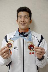 全国障害者スポーツ大会 水泳2冠の東海林