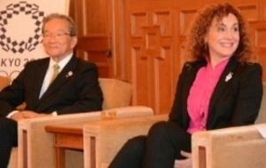 五輪キャンプ候補地 ブルガリア新体操連盟の副会長が宗像市視察