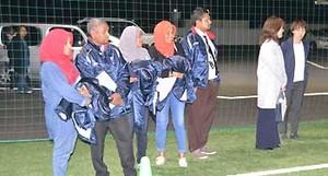 J2松本のスクール視察で驚き モルディブの体育教師来日