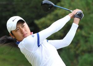 中尾初V、松本は2度目栄冠 京都府ゴルフ選手権