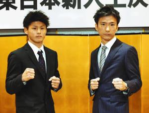新座市職員ボクサー新座宏さん 東日本新人王決勝戦に挑戦