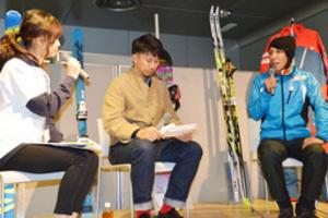冬のスポーツ面白い 札幌市で葛西選手らトークショー
