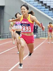 東邦銀行400リレー2位 日本選手権、千葉が30日ラストラン