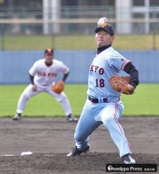 桑田さんらプロOBと 青森市選抜が交流野球